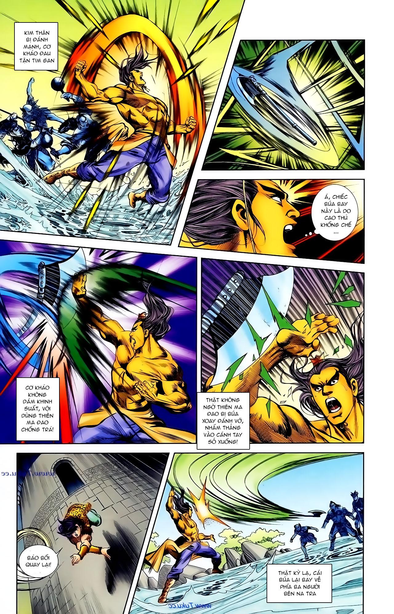 Cơ Phát Khai Chu Bản chapter 103 trang 28