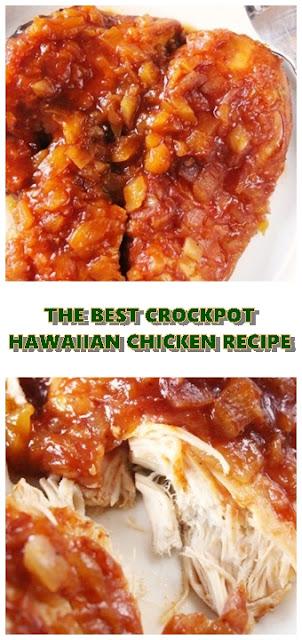 #THE #BEST #CROCKPOT #HAWAIIAN #CHICKEN #RECIPE #chickenrecipes #recipes #dinnerrecipes #easydinnerrecipes