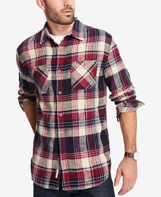 Ekoseli gömlek kombin