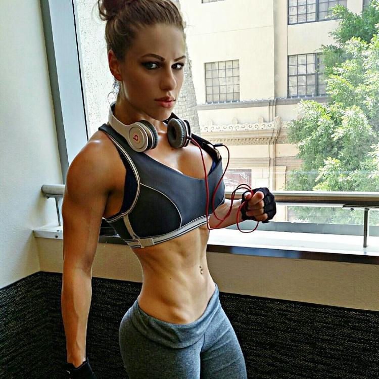 Emily E. Riley Fitness Model