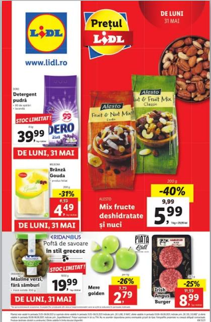 LIDL Catalog - Brosura 31.05 - 06.06 2021→  LidlPlus - Aktiveaza Cupoanele