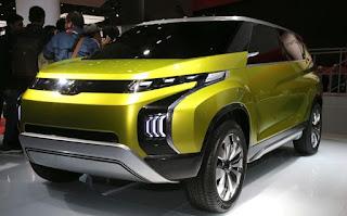 spesifikasi dan interior Mitsubishi XM Concept