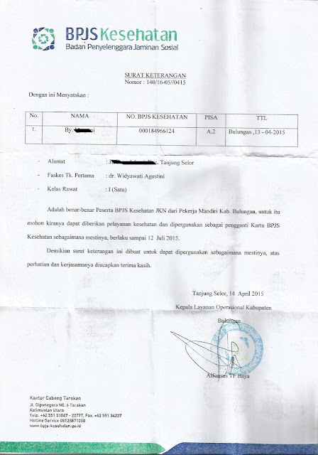 Pengalaman Mendaftarkan Bayi Dalam Kandungan Sebagai Peserta BPJS Kesehatan di Tanjung Selor