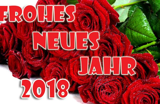 Happy New Year 2018 in German Greetings