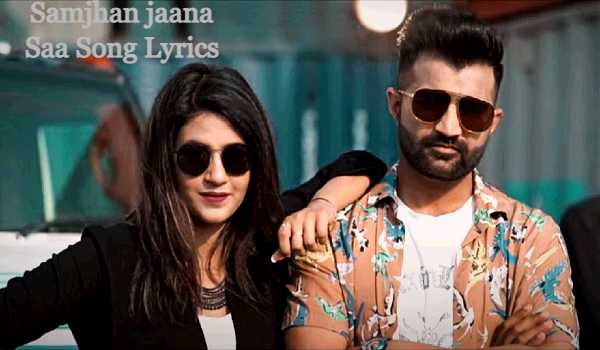 Samjhan jaana Saa Song Lyrics
