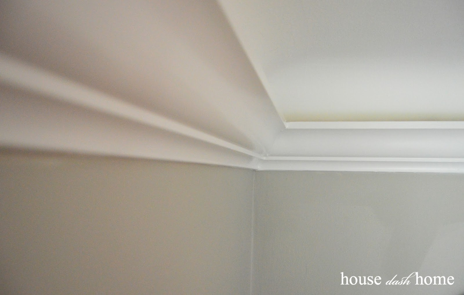 Would You Add Crown Molding To A Coved Ceiling