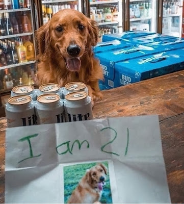 Bier kaufen mit Altersnachweis lustig