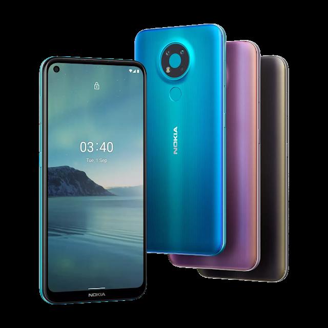 Nokia 3.4 Launch