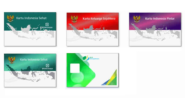 Lengkap template kartu bpjs,keluarga sehat,indonesia pintar,indonesia sejahtera, bpjs ketenagakerjaan HD