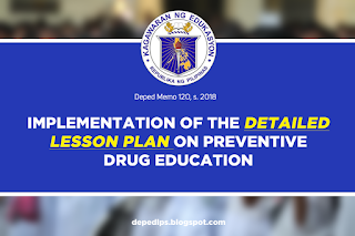 IMPLEMENTATION OF THE DETAILED LESSON PLAN ON PREVENTIVE DRUG EDUCATION