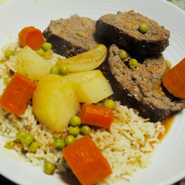 Lebanese-Style Meat Loaf Recipe