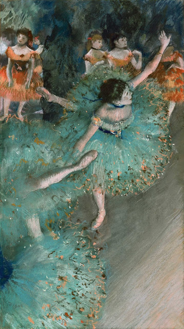 Эдгар Дега - Танцовщицы в зелёном (1877-1879)