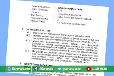 RPP Kelas 2 Tema 4 Kurikulum 2013 Revisi Tahun 2021