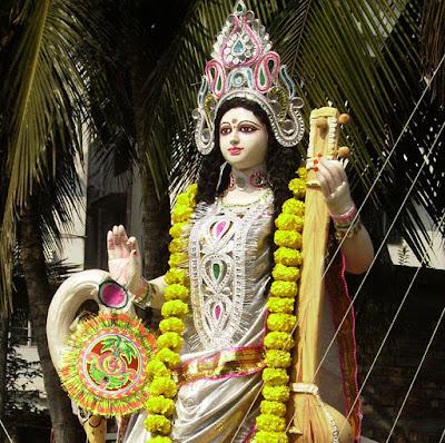 Picture Of Saraswati Devi