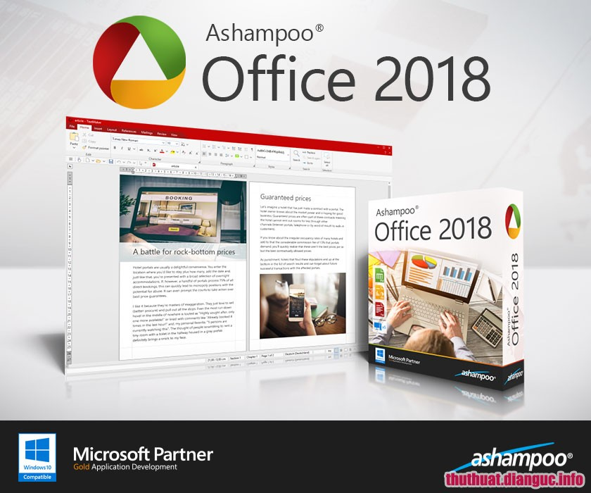 Download Ashampoo Office 2018 Rev 963.0424 Full Cr@ck