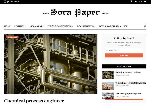 Sora-Paper-Blogger-Template-premium