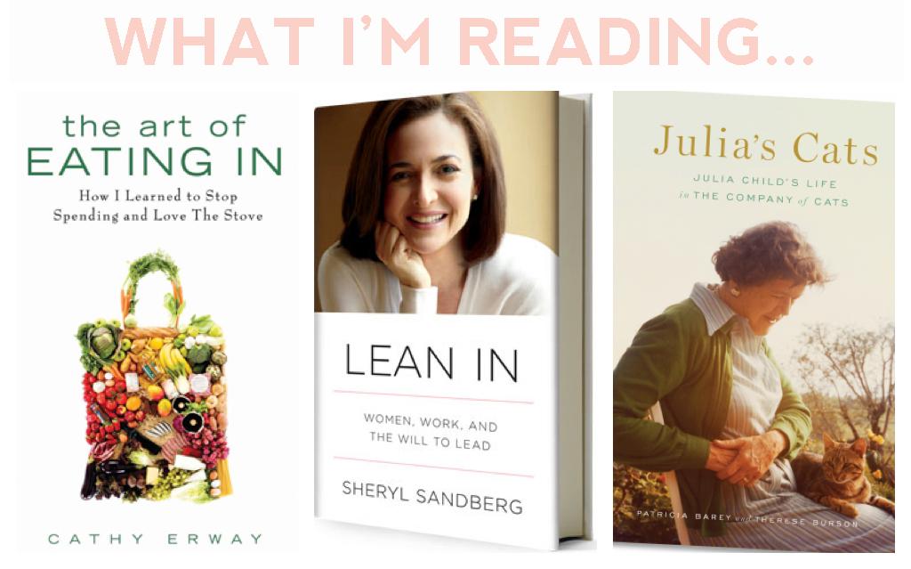 Always Aubrey: Book Reviews    The Art of Eating In, Lean In