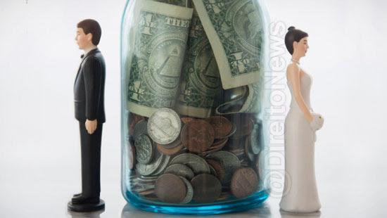 credito aposentadorias acumuladas recebido divorcio partilhado