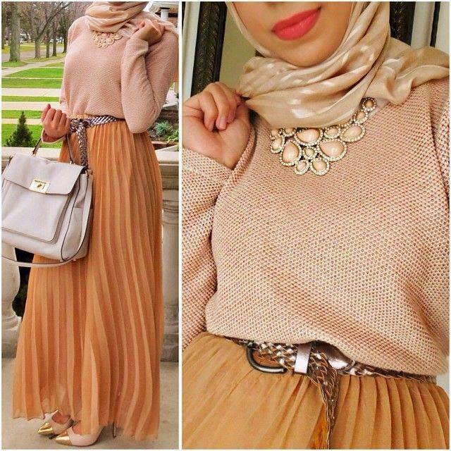 Bien-aimé Hijab style - Pret porter pour femme voilée | Beautiful Hijab Styles XV56