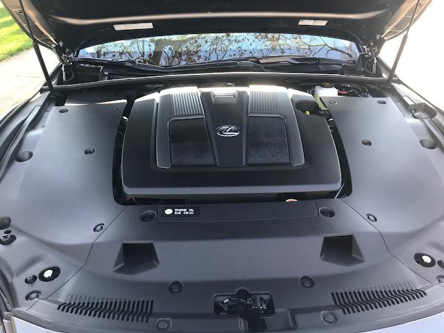 Engine in 2020 Lexus LS 500