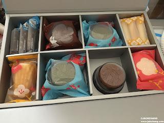 Unboxing 2021 Mid-Autumn Festival Gift Box Starbucks Mooncake-Moonlight Garden