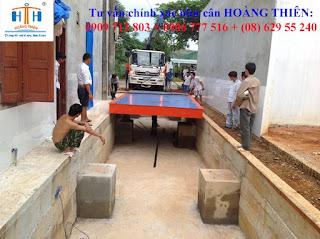 Công ty cân xe tải ô tô 40 tấn tại Tây Ninh