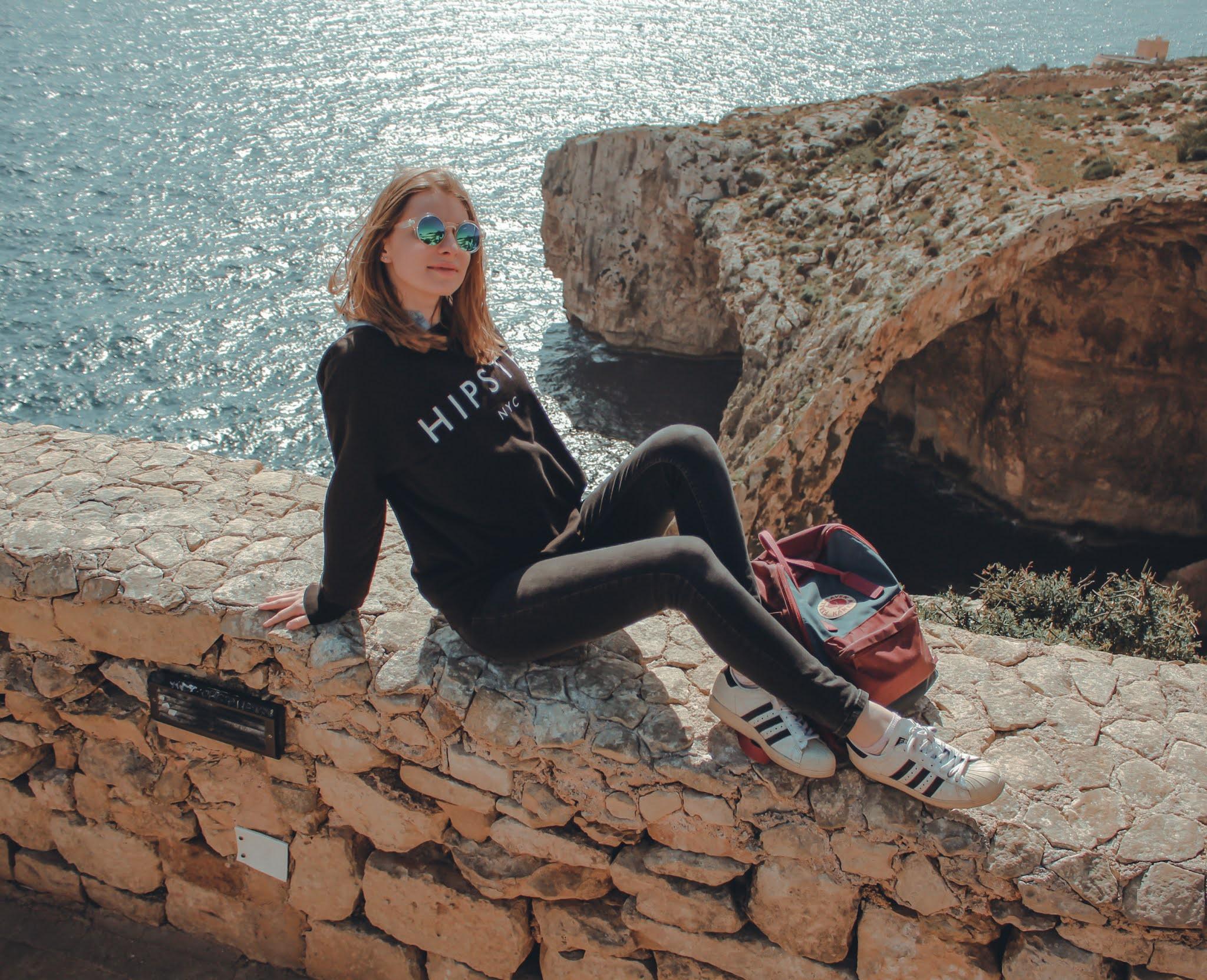 Blaue Grotte Malta Aussicht