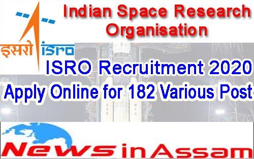ISRO Recruitment 2020
