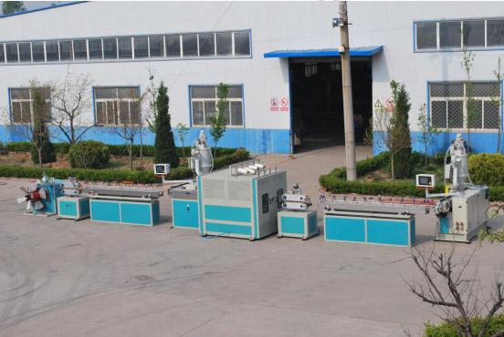 PVC Fiber Reinforced Garden Hose Extrusion Line