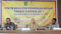 Kabupaten Bima Tuan Rumah Kegiatan FKPD ke-5 tingkat Nasional