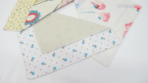 lingettes pour bébés en flanelette et coton imprimé