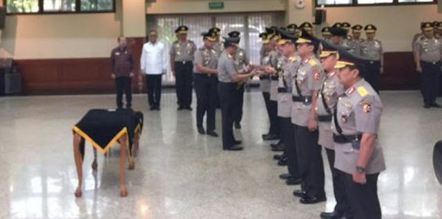 Kapolri Pimpin Serah Terima Jabatan, Kapolda Sulawesi Selatan