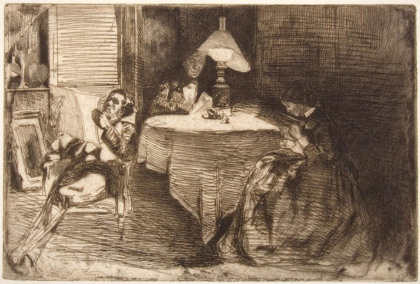 James McNeill Whistler, La sala de música