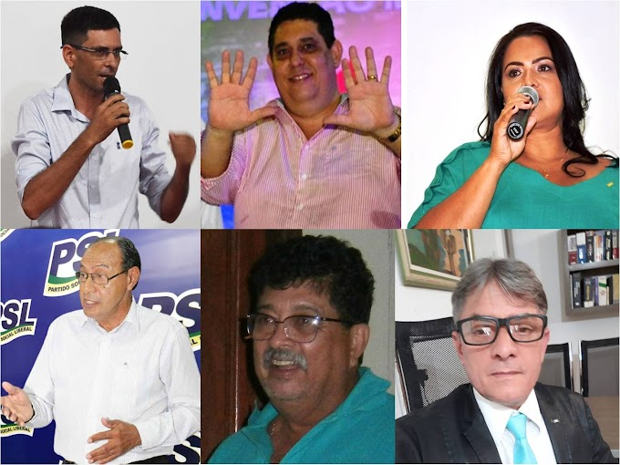 ELEIÇÕES 2020: Conheça os 6 candidatos que estão na disputa pelo comando da Prefeitura de Rosário Oeste
