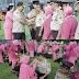 Tahun Baru Puluhan Personel Prabumulih Akhirnya Naik Pangkat