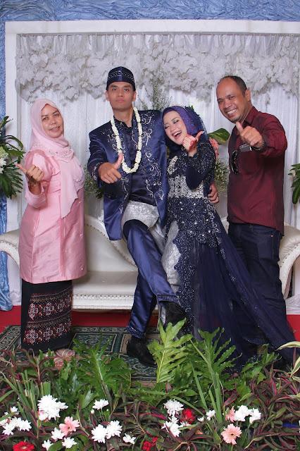 Paket pernikahan Fahmi & Asni