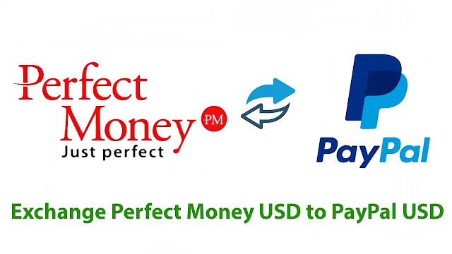 Exchange PayPal USD to Perfect Money USD