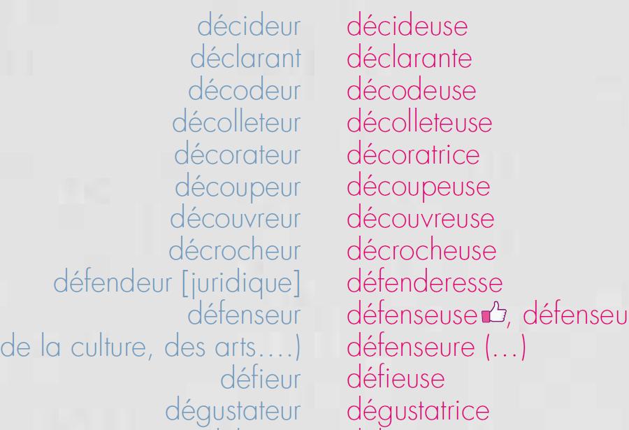liste des noms féminins français
