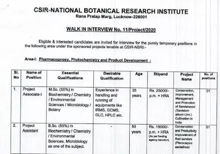 CSIR-Research-Associate
