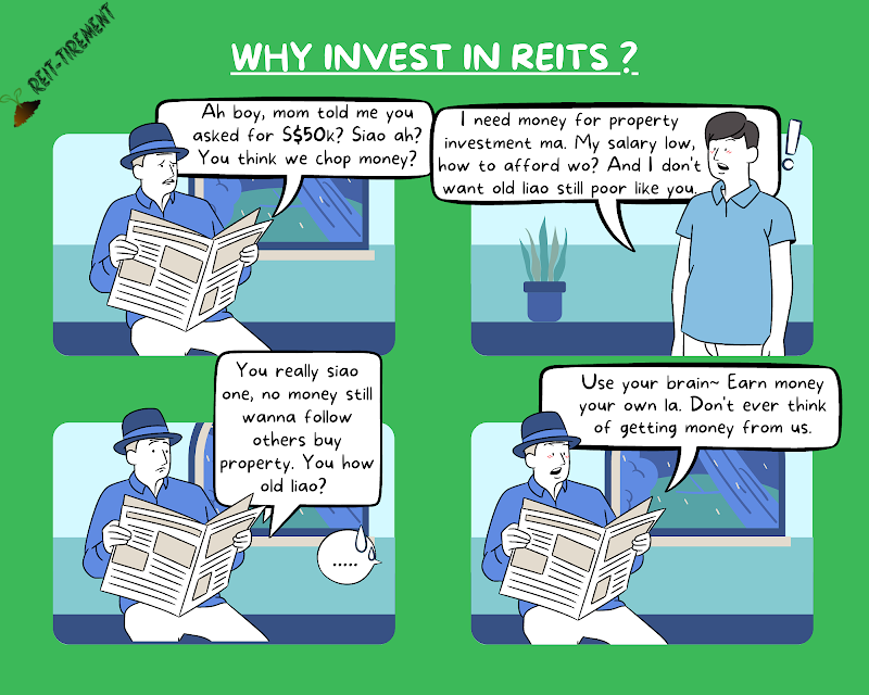 Comic Strip - Why Invest in REITs