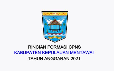 Formasi CPNS Kabupaten Kepulauan Mentawai Tahun 2021