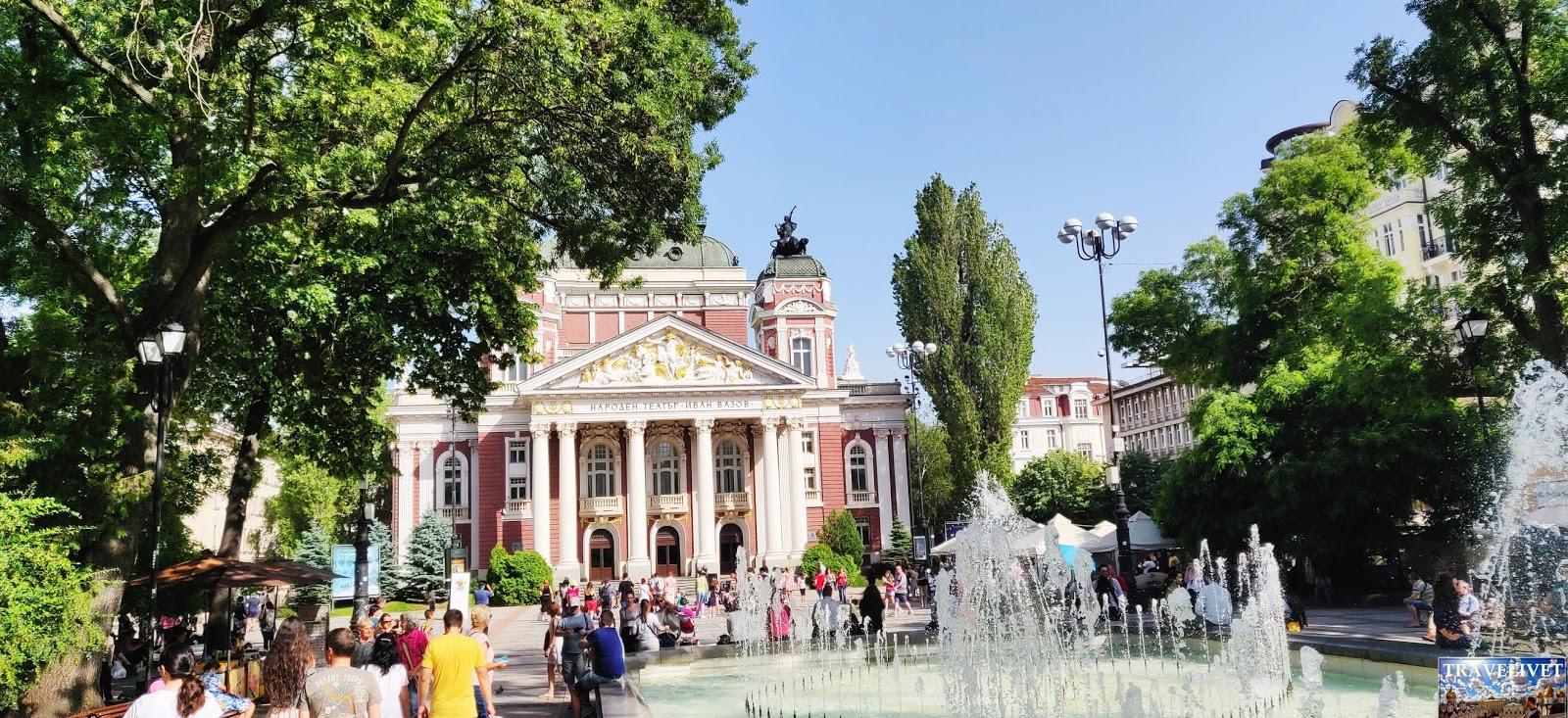 Bulgarie Sofia théâtre