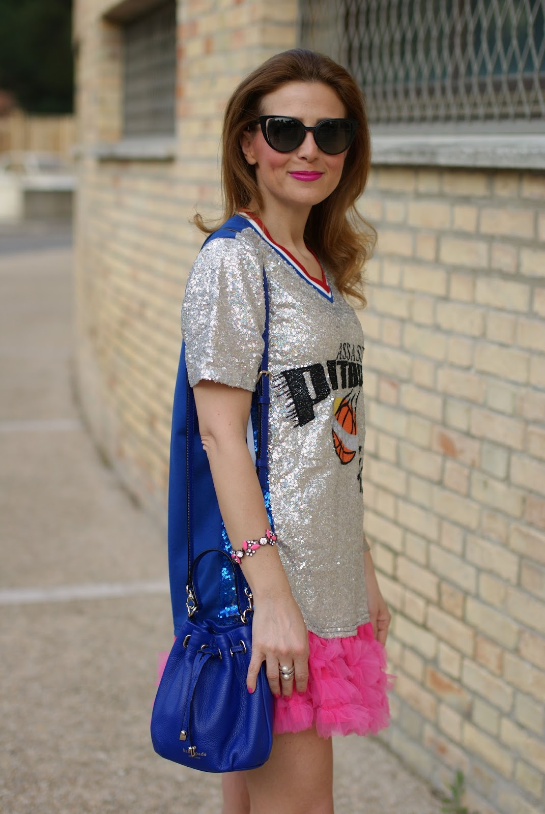 Kate Spade bucket bag on Fashion and Cookies fashion blog, fashion blogger