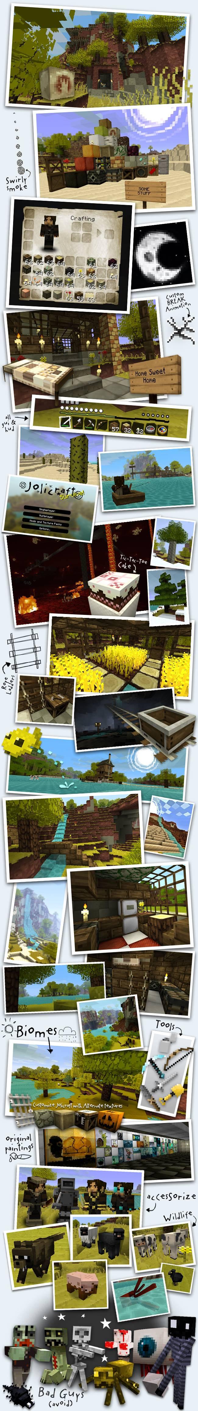 Minecraft Jolicraft Resource Pack 1.17.1