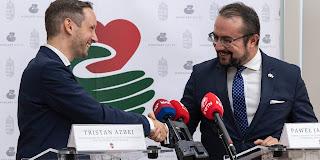 Tristan Azbej e Paweł Jabłoński