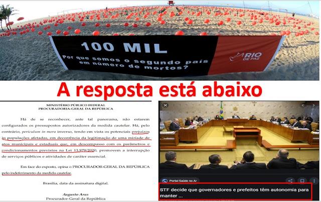 """AQUI SE PROVA! É verdade!!. O STF afastou Bolsonaro do """"controle"""" das medidas estratégicas contra a pandemia da Covid-19"""