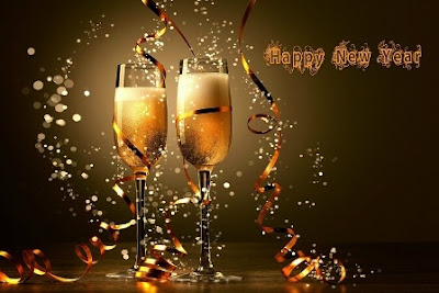 Minum bersama merayakan tahun baru