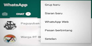 Cara Mengganti Bahasa di Whatsapp, Indonesia Ke Inggris