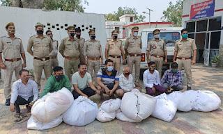 मुर्दो के वस्त्रों को दुकानों पर बेचकर कोरोना का संक्रमण फैलाने वाले गिरफ्तार | #NayaSaberaNetwork