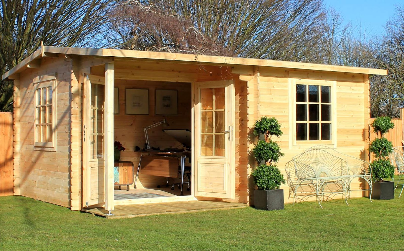 How To Turn Your Shed Into An Office